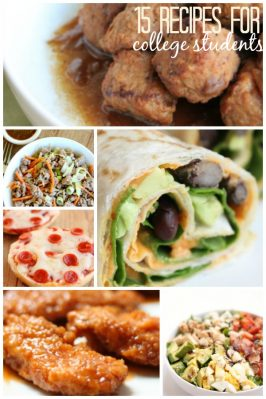 15 Recipes for a College Student