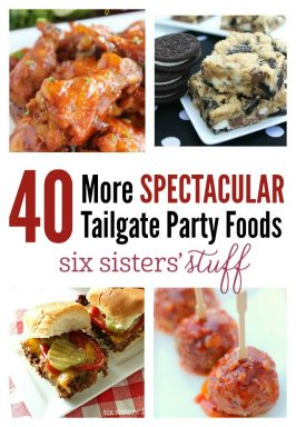 40 More Spectacular Tailgate Party Foods