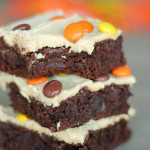 Brownies with Peanut Butter Frosting Recipe