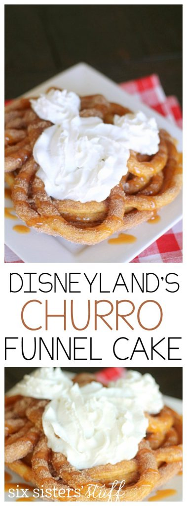 Disney Funnel Cake Recipe