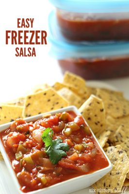 Easy Freezer Salsa