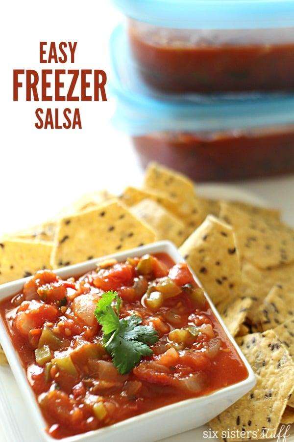 Easy Freezer Salsa