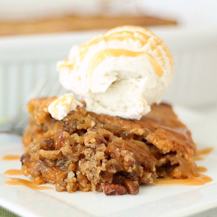Homemade Pumpkin Pecan Cobbler Recipe