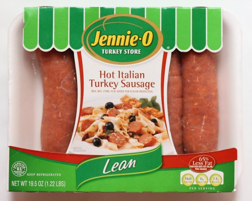 Hot Italian Turkey Sausage