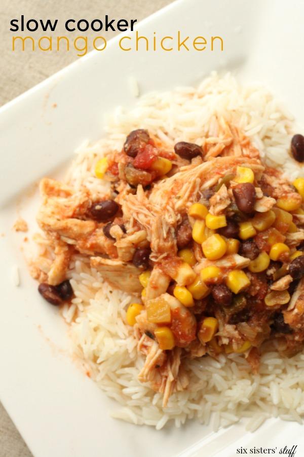 Slow Cooker Mango Chicken Recipe