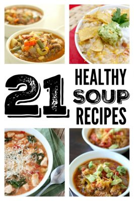 21 Healthy Soups, Stews and Chilis