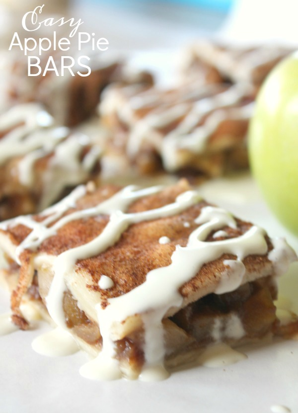 Easy Apple Pie Bars Recipe