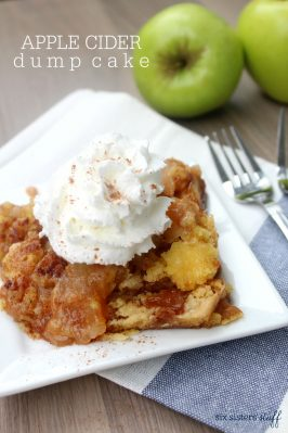 Apple Cider Dump Cake
