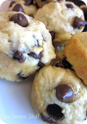 Chocolate Chip Buttermilk Pancake Muffins