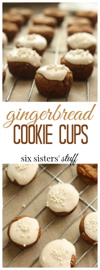 Gingerbread cookie cups pin