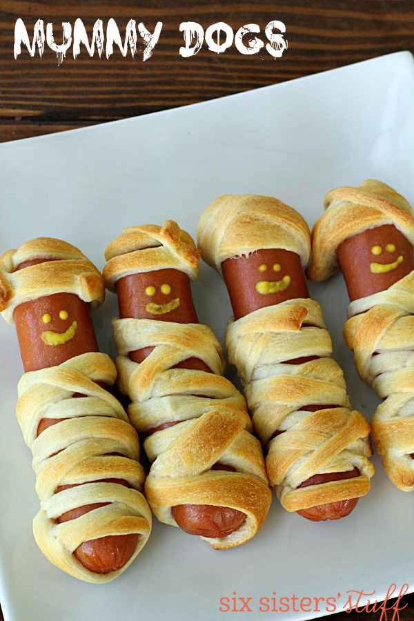Halloween Mummy Dogs Recipe