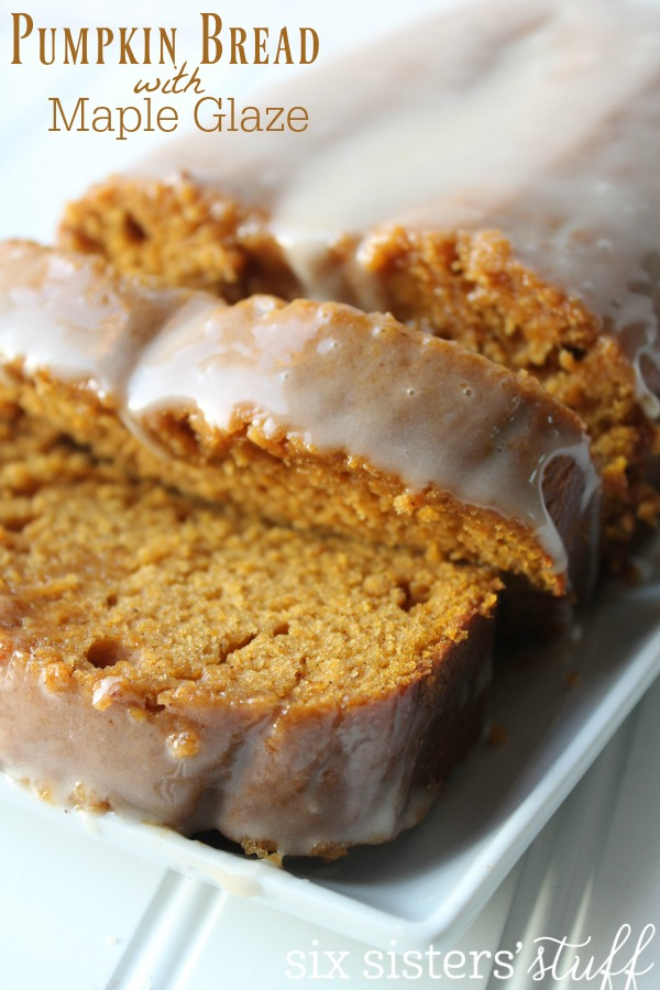 Pumpkin Bread with Maple Frosting Recipe