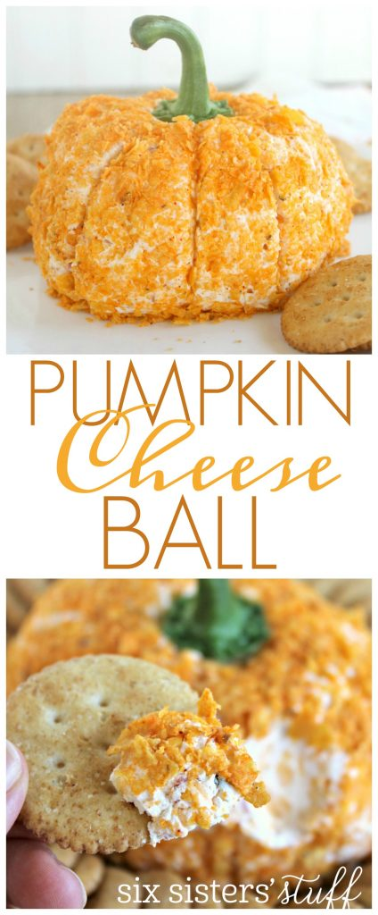Pumpkin Cheese Ball 6