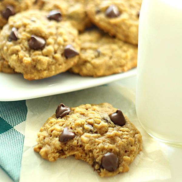 Pumpkin Oatmeal Cookies - SixSistersStuff