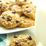 Pumpkin Oatmeal Cookies from SixSistersStuff
