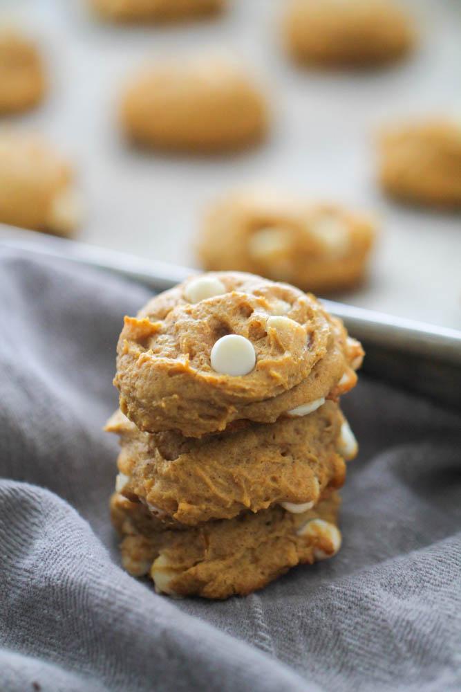 White Chocolate Cheesecake Pumpkin Cookies Recipe