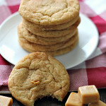 Soft Caramel Snickerdoodles on SixSistersStuff
