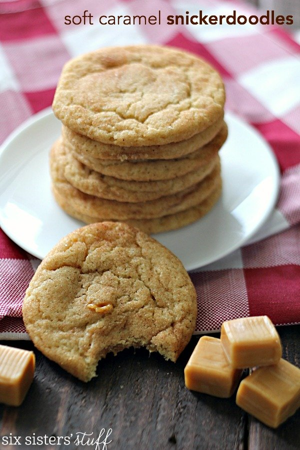 Soft Caramel Snickerdoodles Recipe