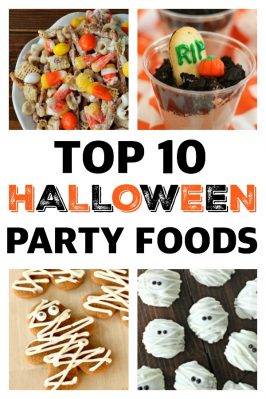 Top 10 Halloween Party Foods