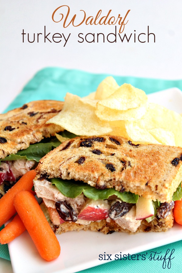 Waldorf Turkey Sandwich Recipe