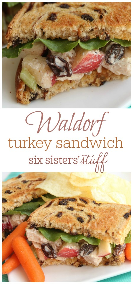 Waldorf Turkey Sandwich 2