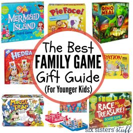 Family Game Gift Guide (for Younger Kids)