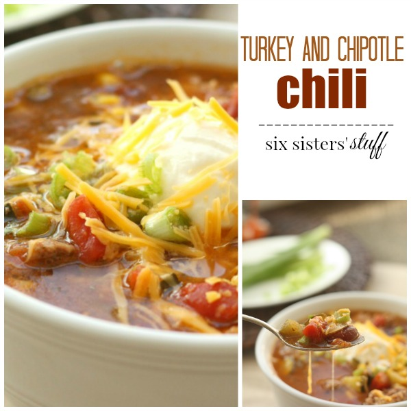 turkey and chipotle chili pin