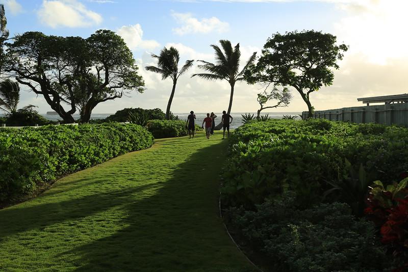 1 hotel beach access
