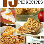 15 of the BEST Thanksgiving Pie Recipes from SixSistersStuff.com
