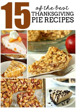 15 of the BEST Thanksgiving Pie Recipes
