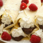 Chocolate Raspberry Crepes