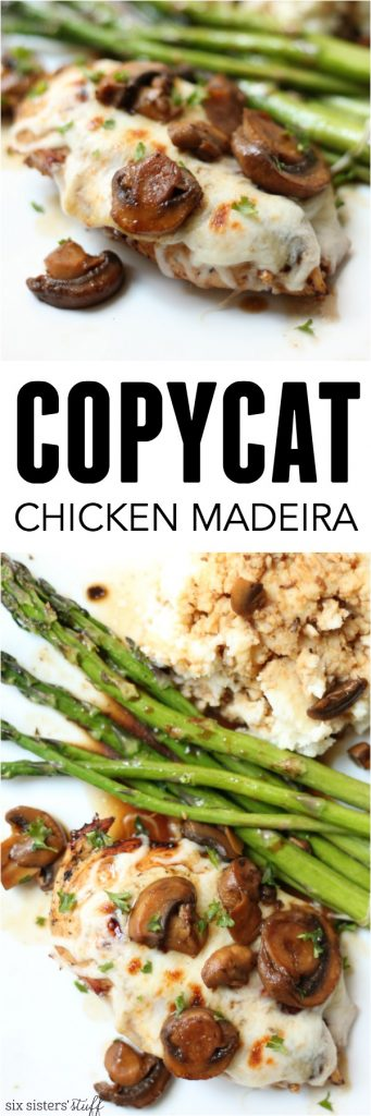 Copycat Chicken Madeira Pinterest