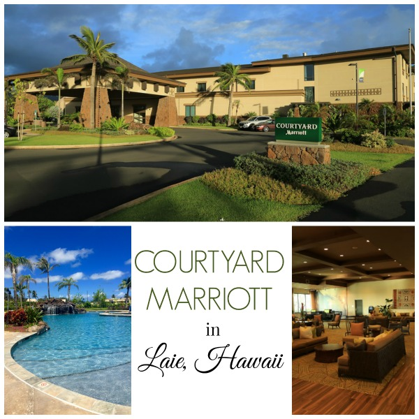 Our Stay at the Courtyard Marriott in Laie Hawaii