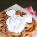 Disneyland's Churro Funnel Cake Recipe