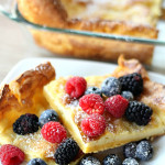 German Pancakes on SixSistersStuff