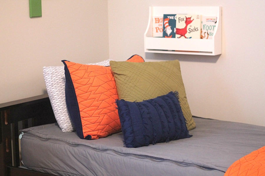 Gray Zipper Bedding
