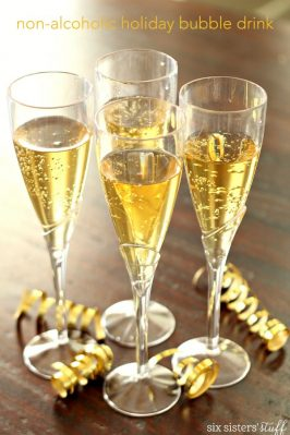 Non-Alcoholic Bubbly Drink (aka Mock Champagne)