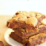 Rolo Chocolate Chip Bars