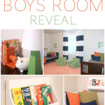 Shared Boys Room from SixSistersStuff.com