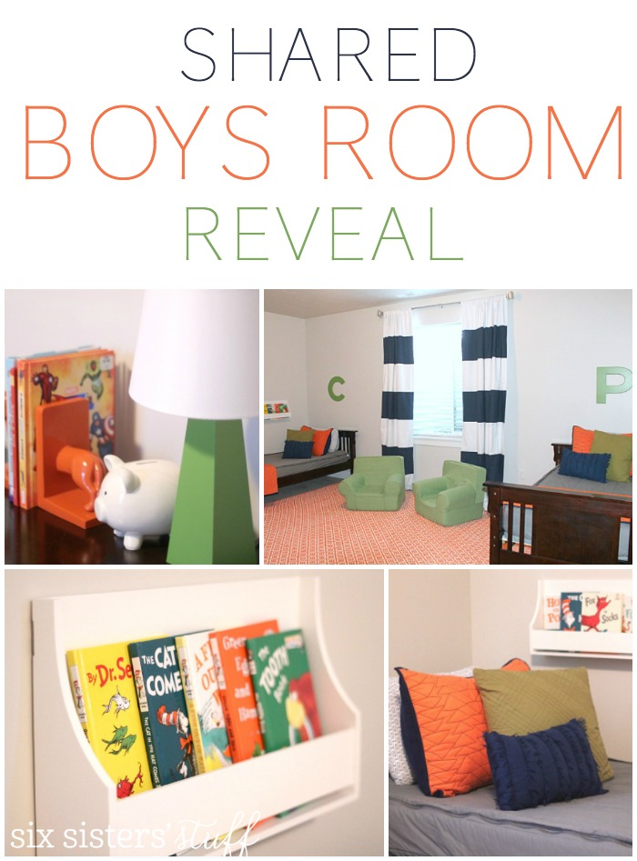 Boys Shared Bedroom Reveal