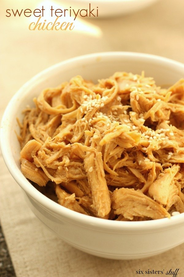 Slow Cooker Sweet Teriyaki Chicken Recipe