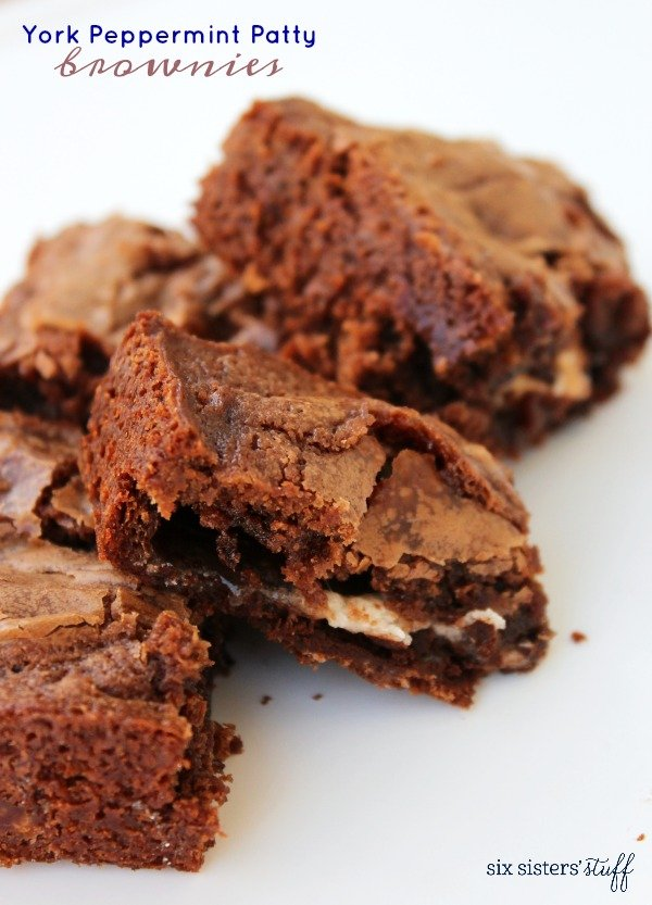York Peppermint Patty Brownies Recipe