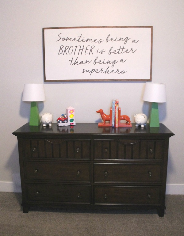 boys shared room dresser