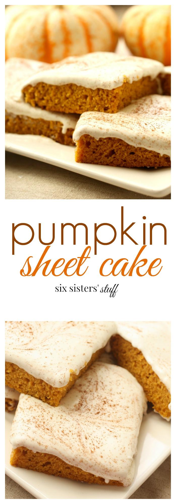 Pumpkin Sheet Cake All Recipes
