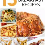 15 Make-Ahead Breakfast Recipes from SixSistersStuff.com