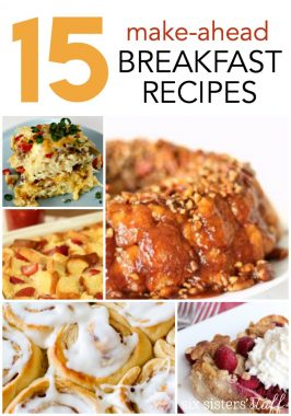 15 Make-Ahead Breakfast Recipes