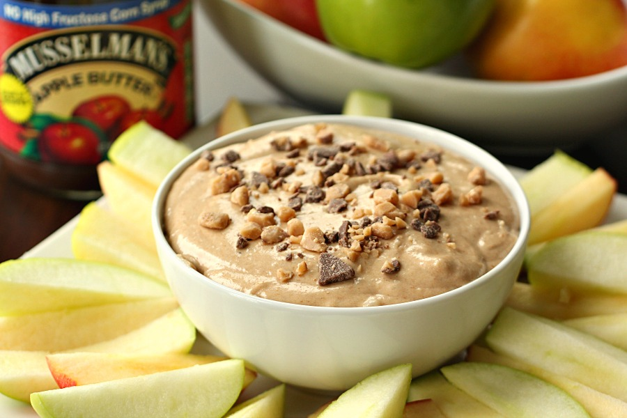 Caramel Apple Butter Dip 3