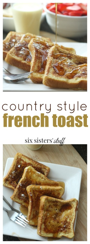 Country style french toast