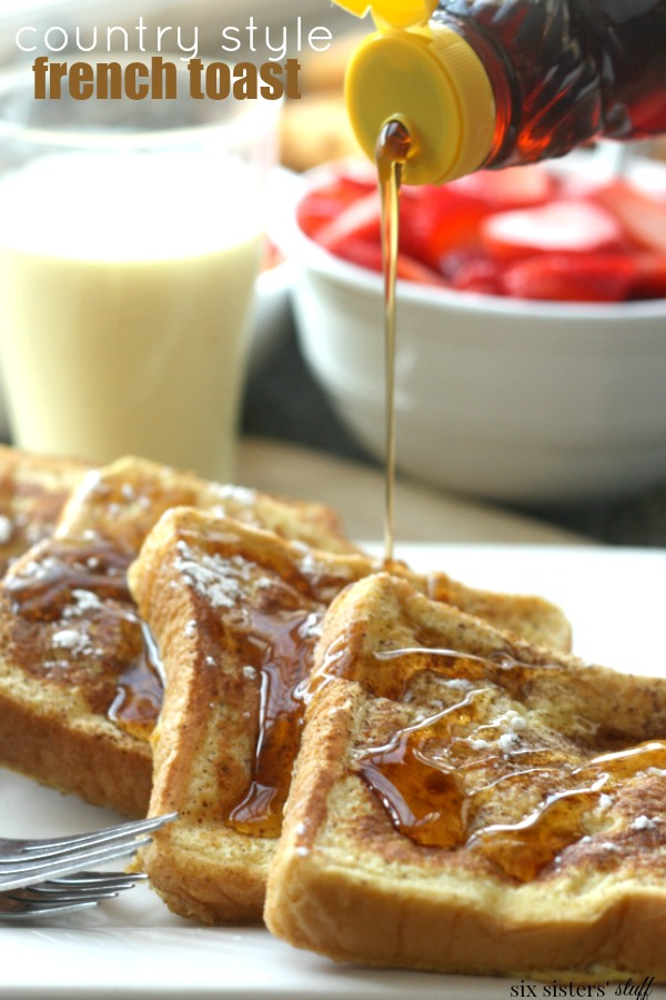 Country Style French Toast Recipe