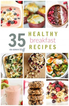 35 Healthy Breakfast Recipes